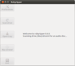 Rubyripper just started